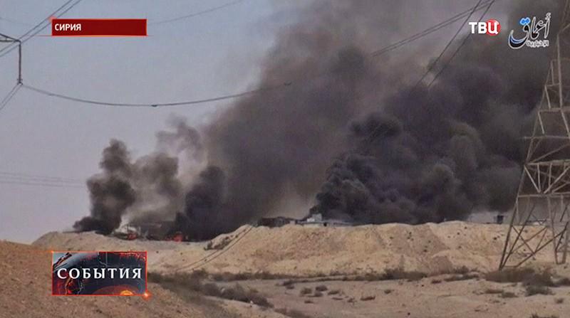 Боевые действия в Сирии