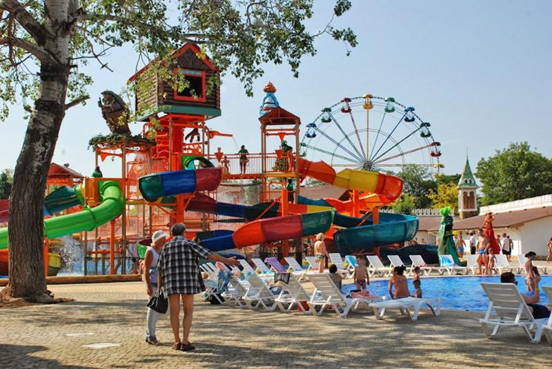Аквапарк в Крыму