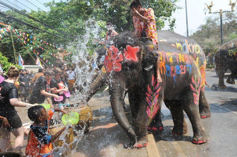 Тайский Новый год (Сонгкран)