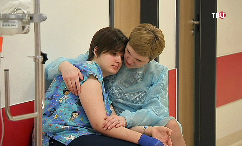 Лиза Крупнова в больнице