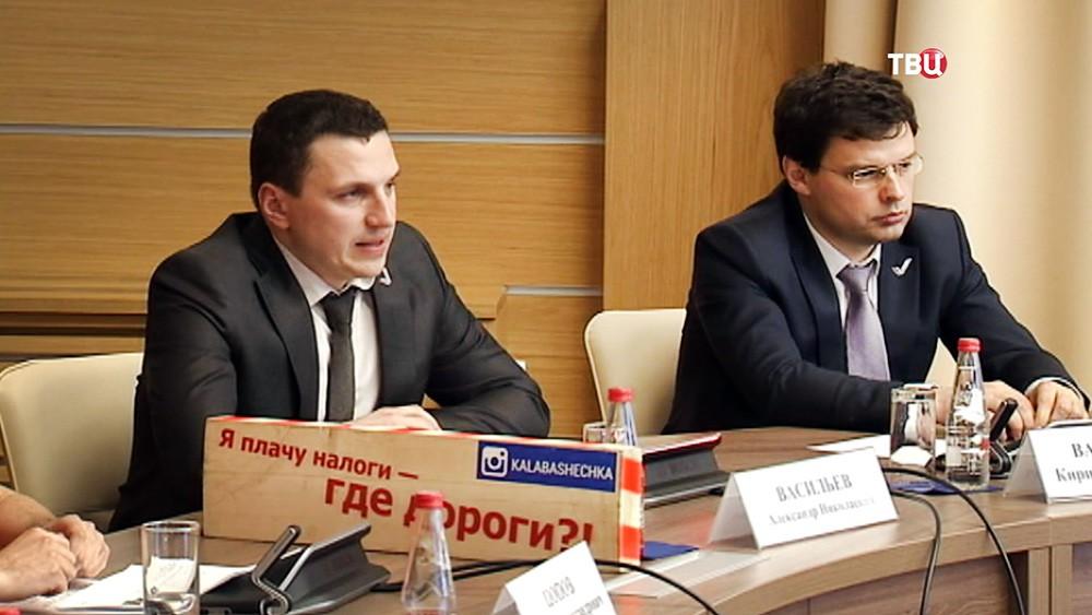 Обсуждение в ОНФ самых плохих дорог в городах России