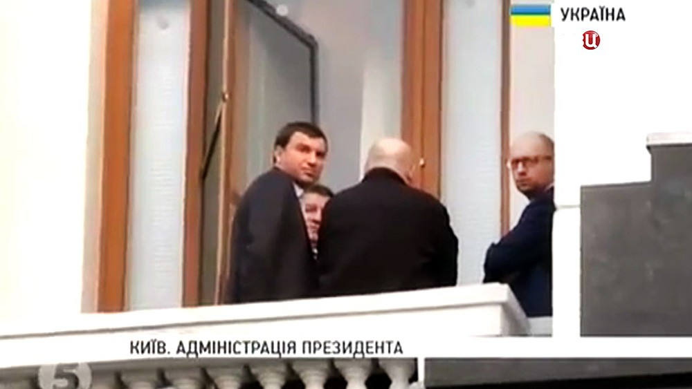 Переговоры в администрации президента Украины