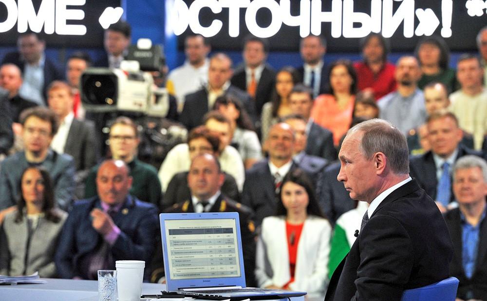 Прямая линия с Владимиром Путиным
