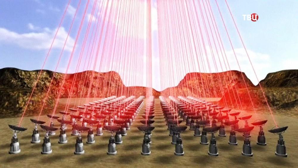 Модель полета наноробота к системе Альфа Центавра