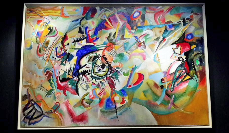 Выставка работ Василия Кандинского