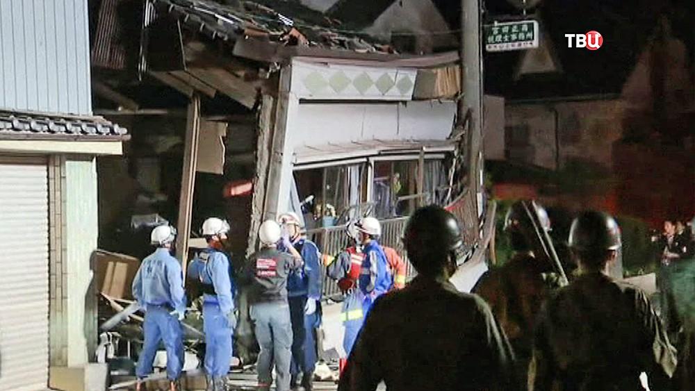 Последствия землетрясения в Японии