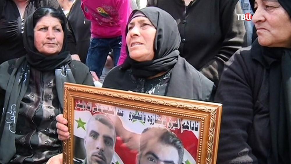 Жительница Сирии потерявшая на войне сыновей