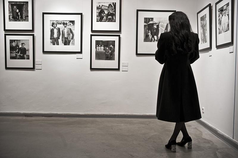 Посетитель на выставке