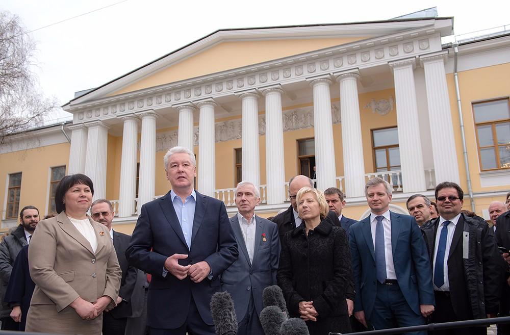 Осмотр итогов реставрации памятника архитектуры в Леонтьевском переулке