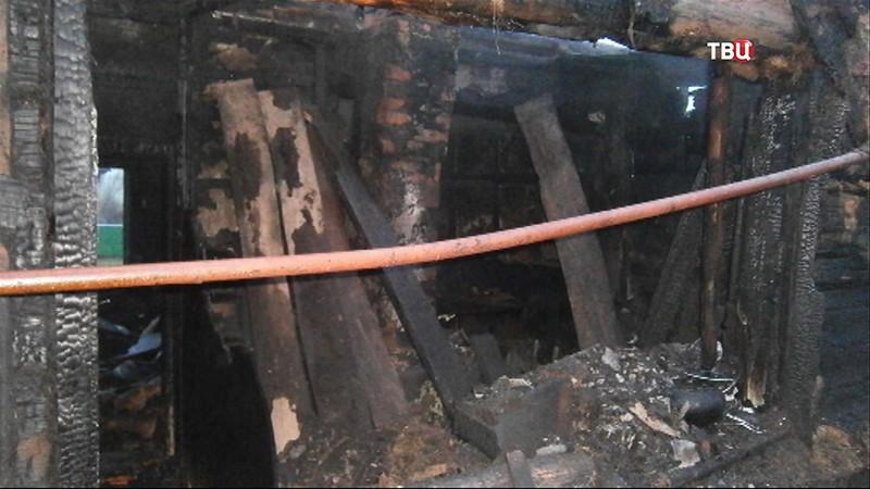 Пожар в Башкирии
