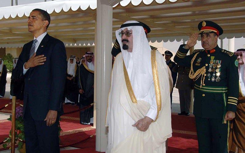 Визит президента США Барака Обамы в Саудовскую Аравию