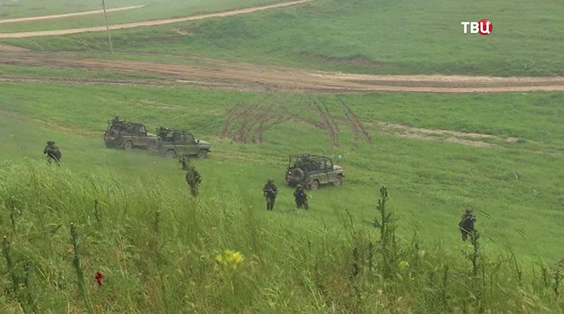 Совместные учения подразделений военной разведки