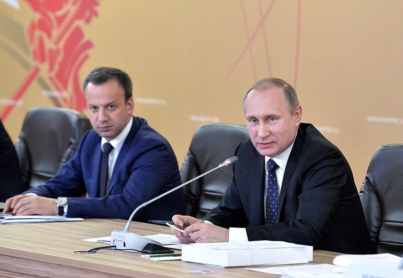 Владимир Путин на заседании Совета по развитию физической культуры и спорта