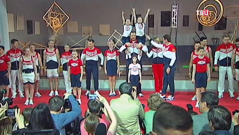 Новая форма сборной России для Олимпиады-2016