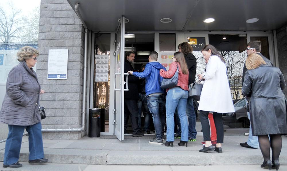 Очередь сервисно-визовый центр Греции