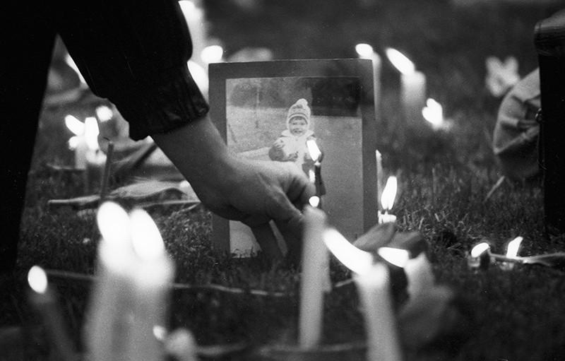 Всеукраинский молебен по жертвам чернобыльской катастрофы