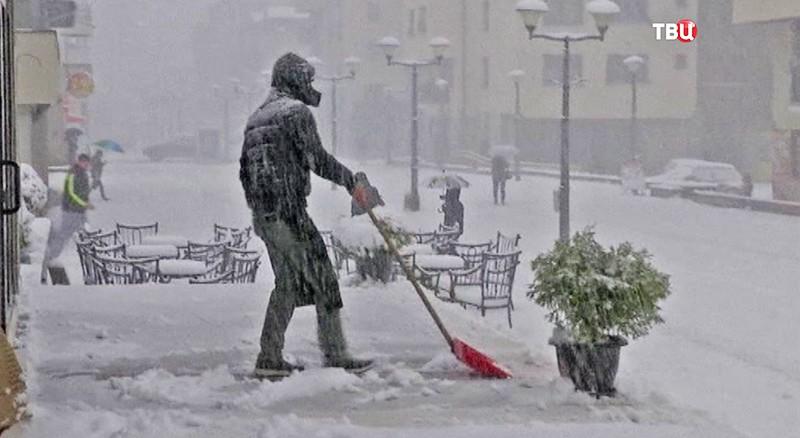 Снег в Боснии и Герцеговине