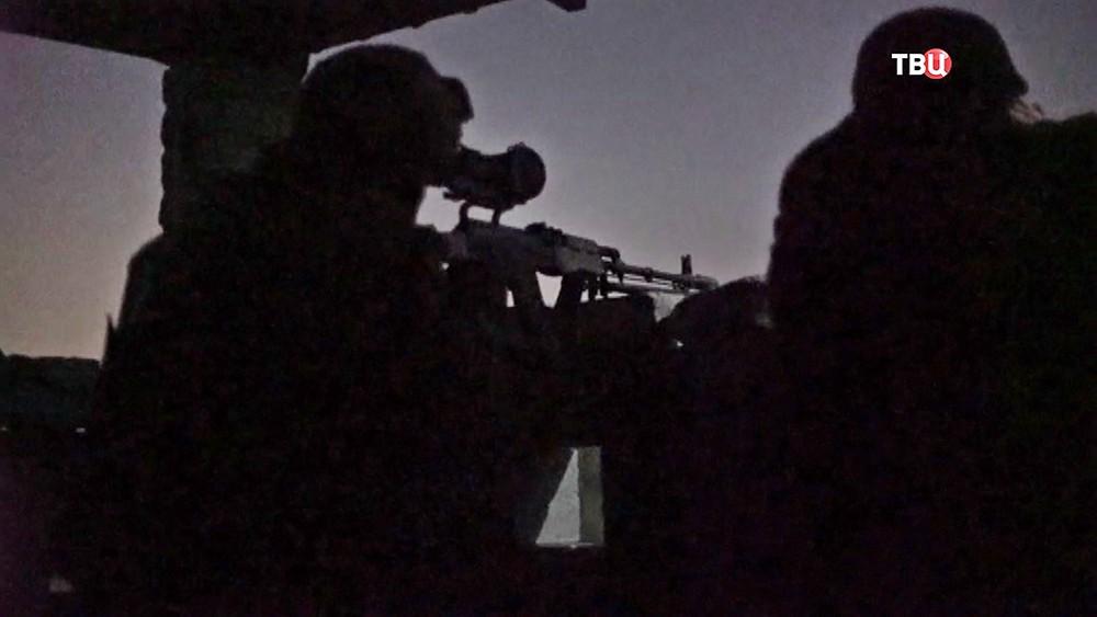 Военные действия в Донбассе