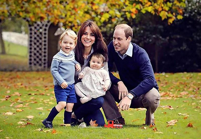 кейт миддлтон и ее дети последние фото 2016