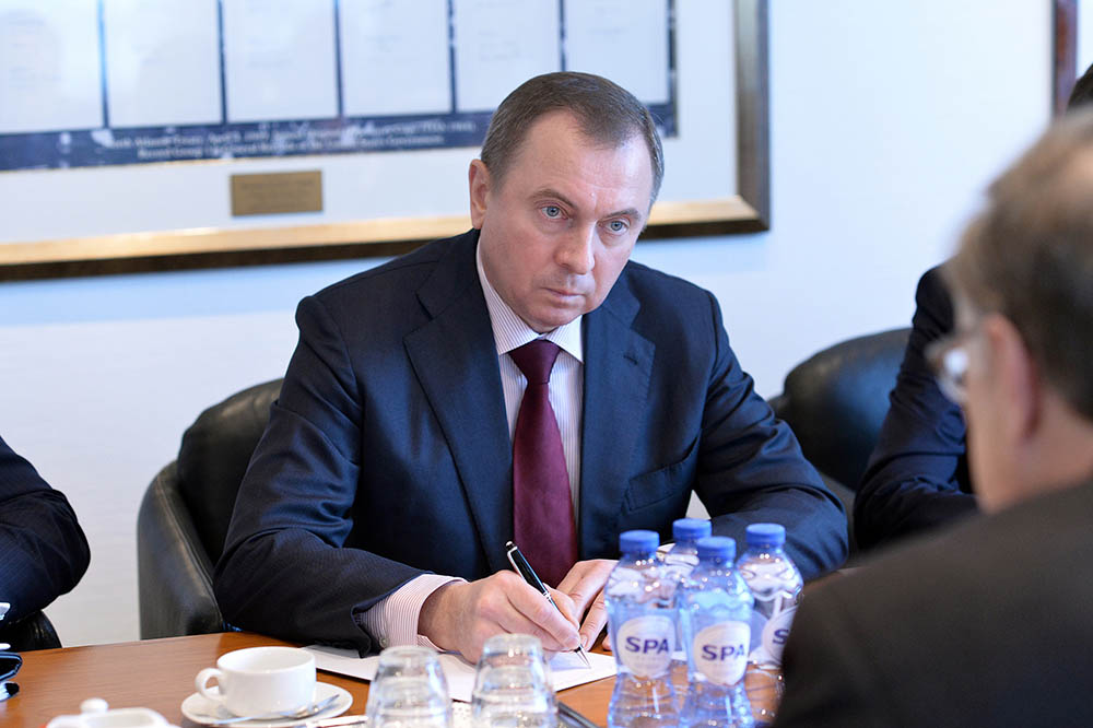 Министр иностранных дел России Владимир Макей