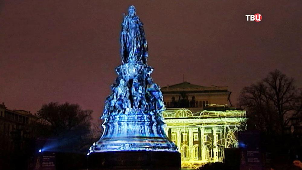 Фестиваль света в Санкт-Петербургее