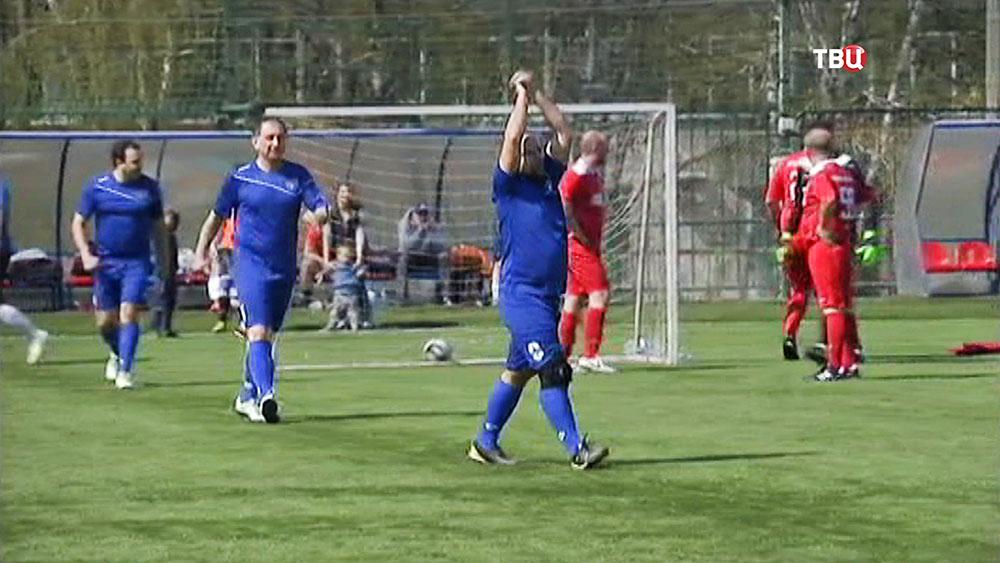 Футбольный турнир среди медиков