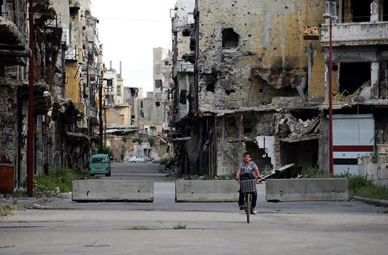 Сирия, город Хомс