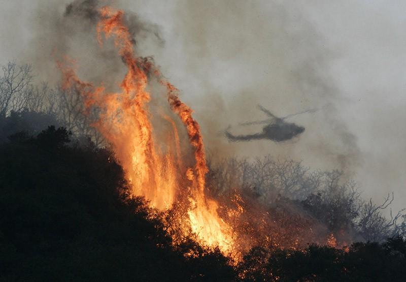 Лесные пожары в Канаде