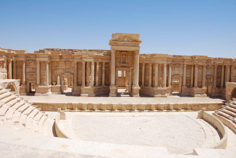 Амфитеатр в Пальмире