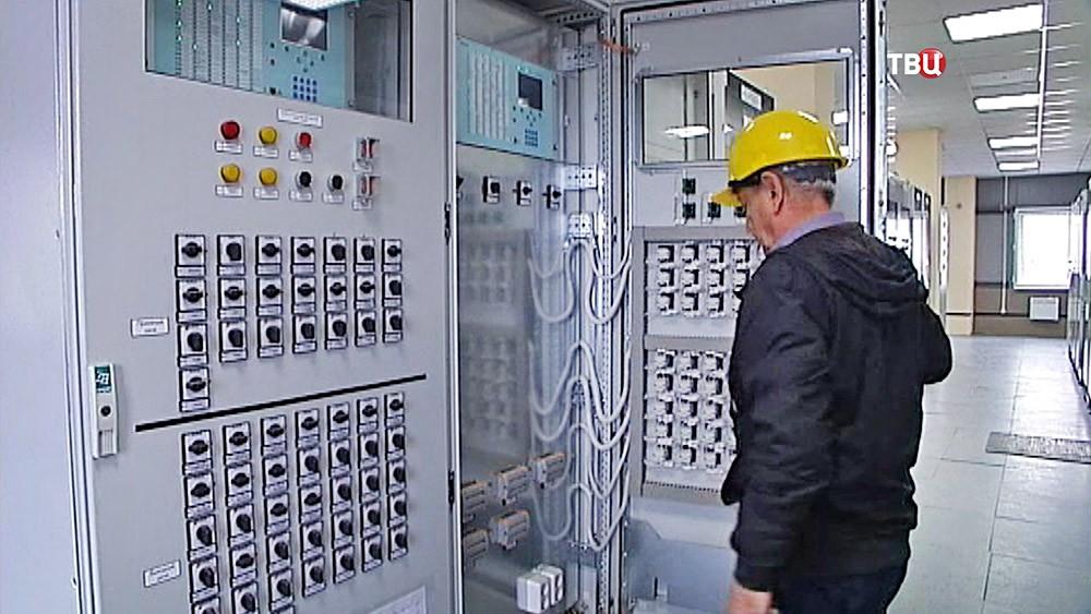 Центр управления энергоблока в Крыму