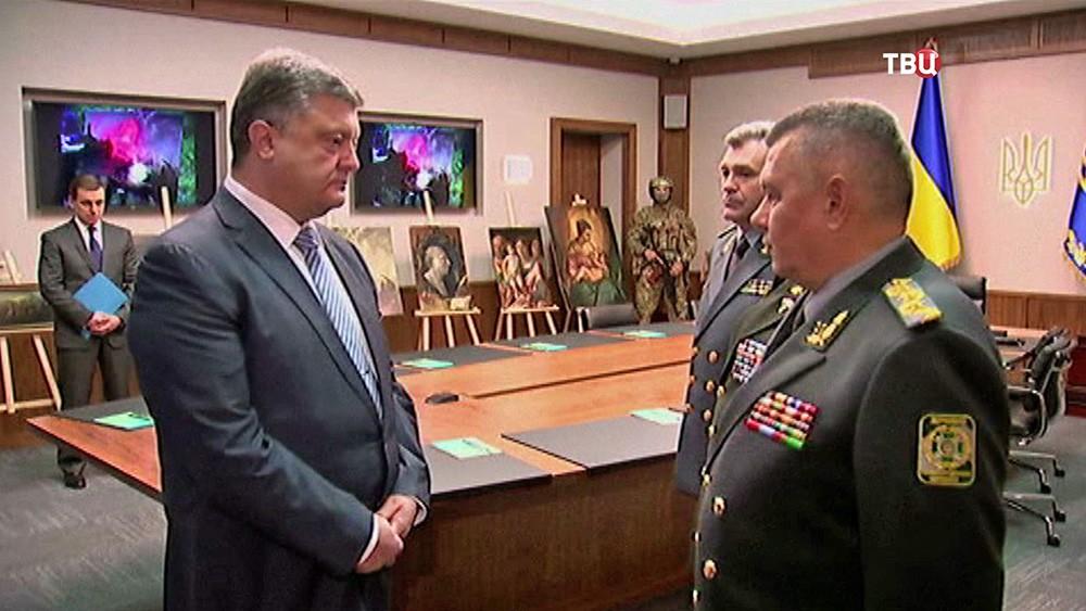 Петр Порошенко поздравляет силовиков за находку похищенных картин из музея в Вероне