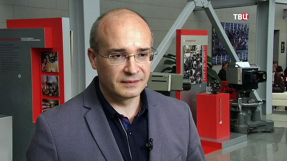 Журналист Андрей Кондрашов