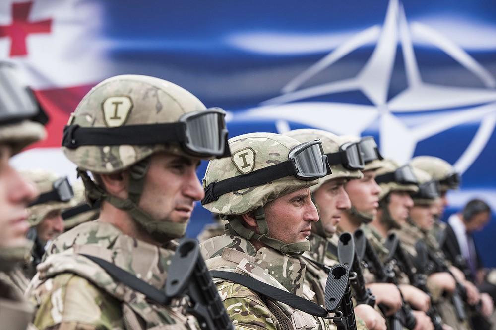 Взаимодействие армии Грузии и сил НАТО