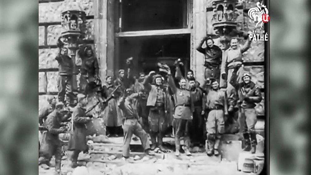 Кадры Великой Отечественной Войны