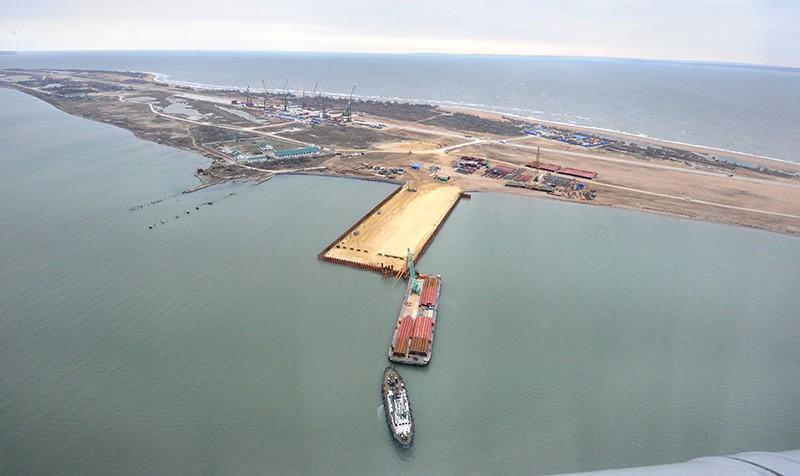 Строительство транспортного перехода через Керченский пролив