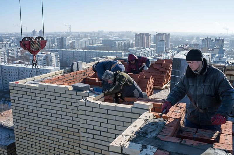 Строительство многоэтажного жилого дома