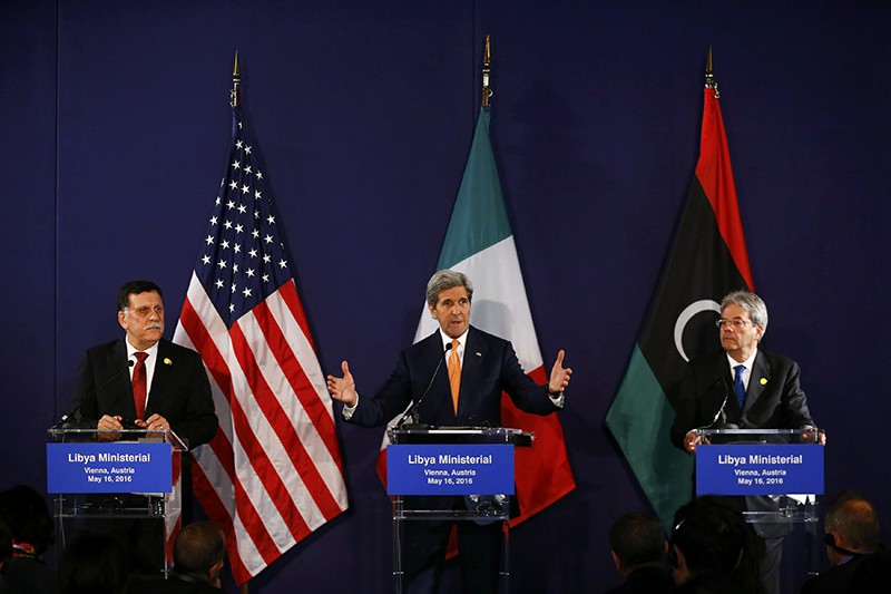 Переговоры Международной группы поддержки Сирии в Вене