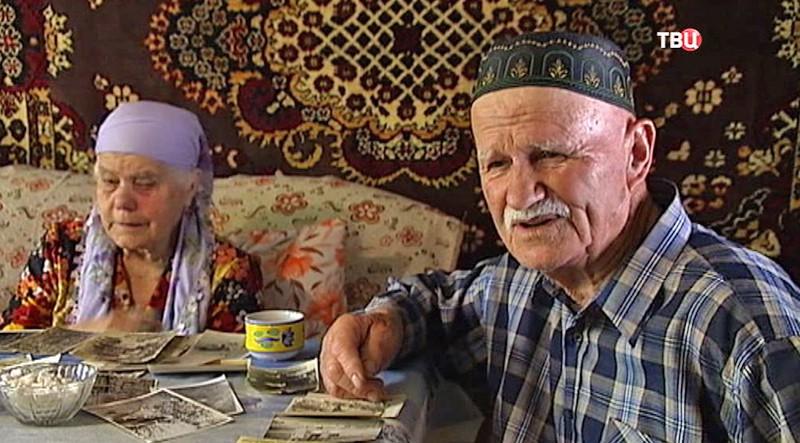Осман Абдулаев и его жена
