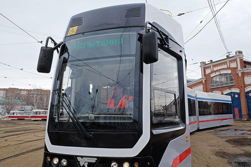 Низкопольный трамвайный вагон