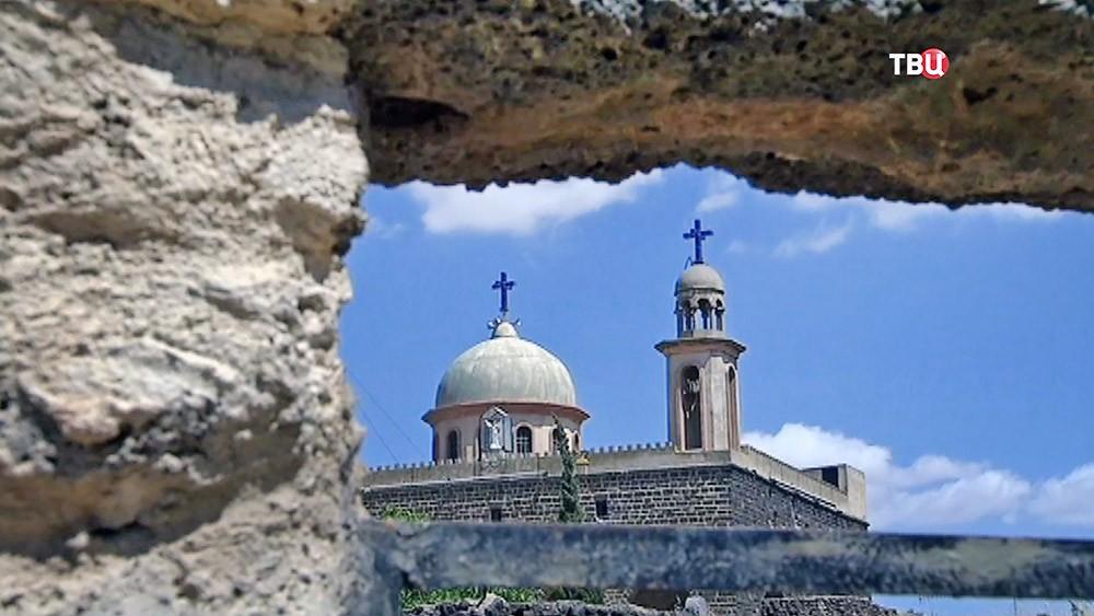 Православный храм в Сирии