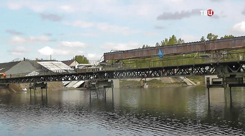Новый мост через Енисей в Красноярском крае