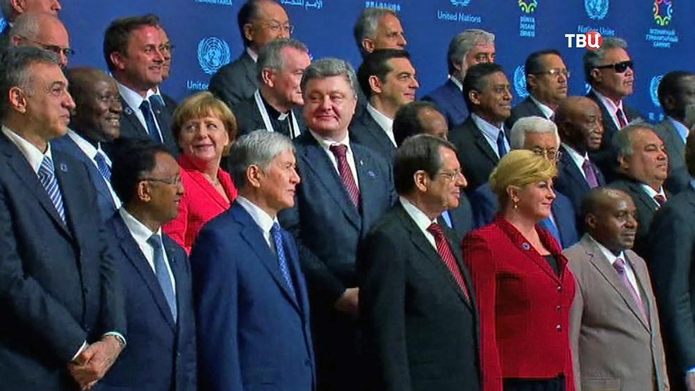 Петр Порошенко на саммите ЕС