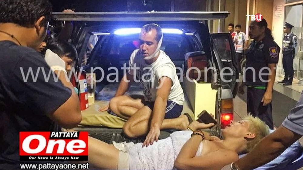 Пострадавшие в ДТП в Таиланде