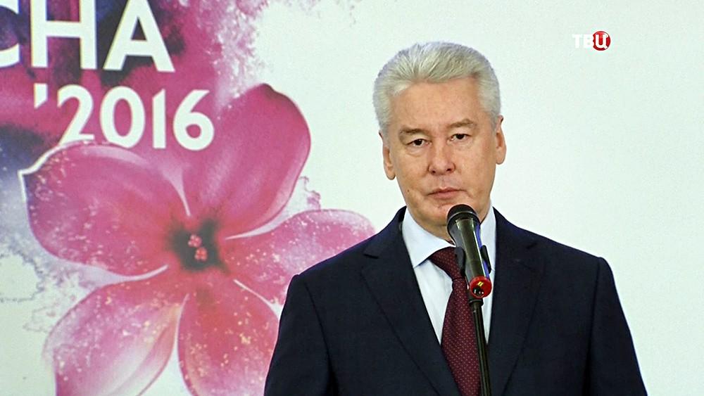 """Сергей Собянин на форуме """"Бизнес Весна"""""""