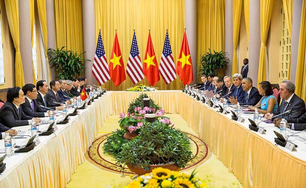 Переговоры США и Вьетнама