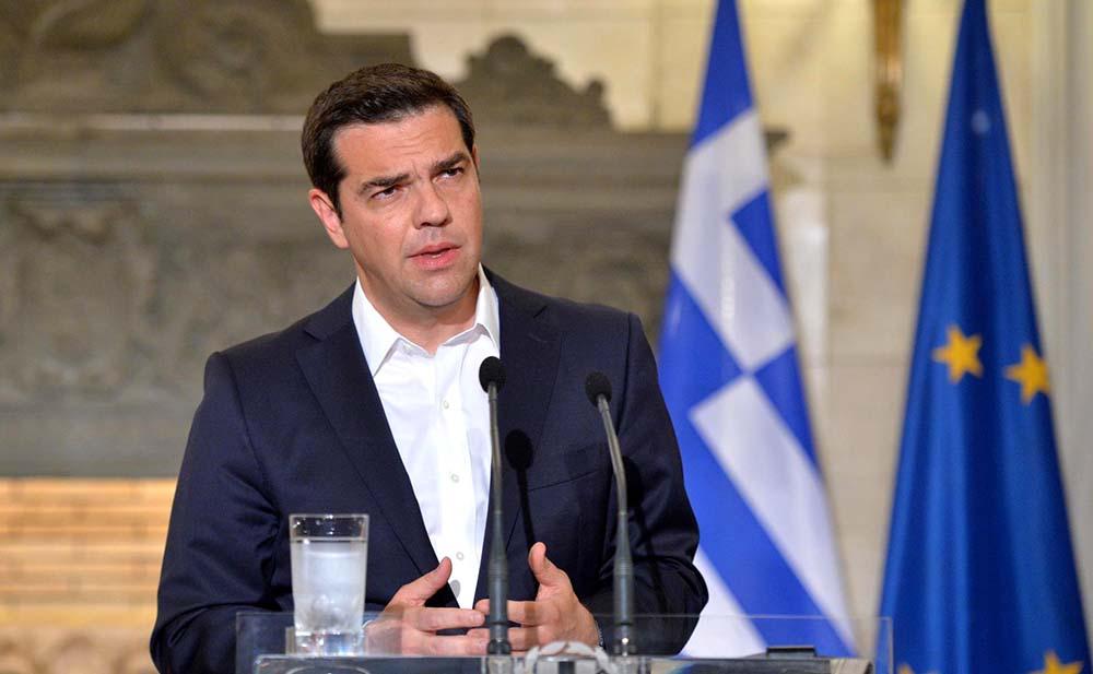 Премьер-министр Греческой Республики Алексис Ципрас