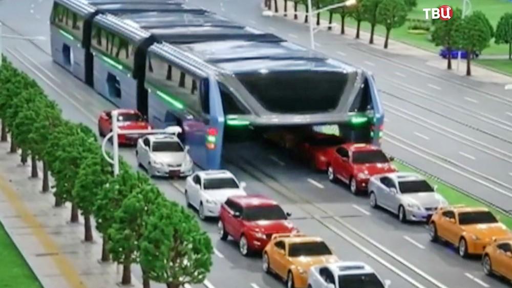 Макет китайского автобуса