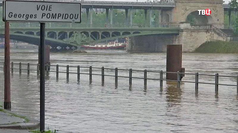 Ֆրանսիայում ջրհեղեղի պատճառով 5,500 մարդ է տարհանվել