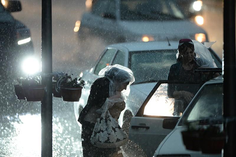 Сильный дождь в Краснодарском крае
