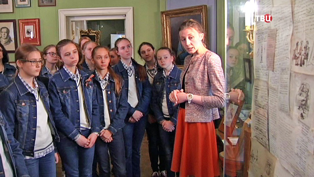 Экскурсия в музее А.С. Пушкина